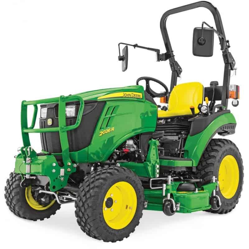 tracteur john deere 2026r