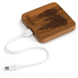 Power bank en bois