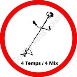 Forfait débroussailleuse thermique 4 temps / 4 Mix