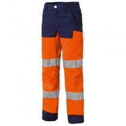 Pantalon LUKLIGHT Very LIGHT Orange fluo et marine