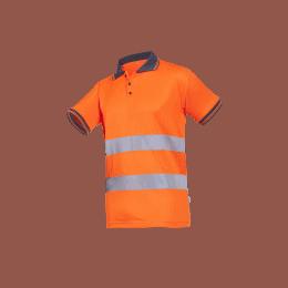 POLO HV NARO Orange fluo