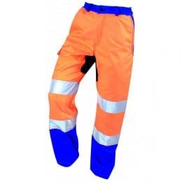 Pantalon anti-coupure PRADES haute visibilité