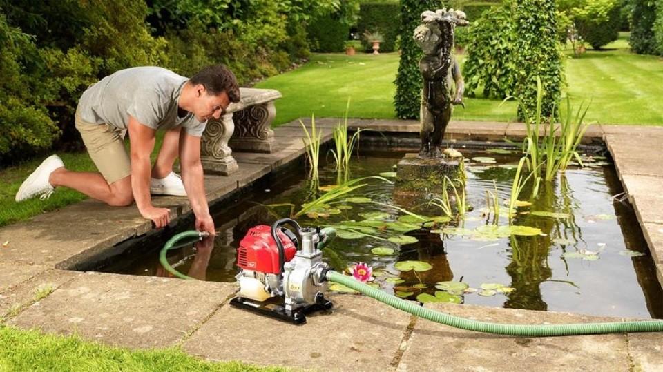 Motopompe eaux claires