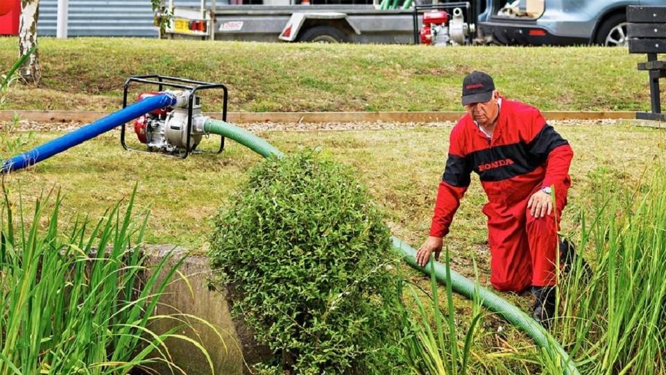 Motopompe eaux semi chargées