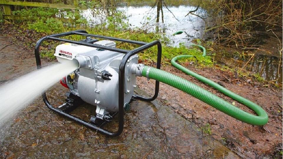 Motopompe eaux chargées