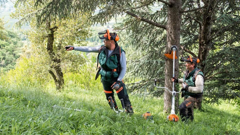 Débroussailleuse forestière